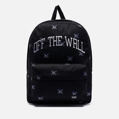 Рюкзак Vans Old Skool III Off The Wall New Varsity, цвет чёрный