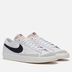 Мужские кроссовки Nike Blazer Low 77 Vintage, цвет белый, размер 39 EU