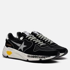 Мужские кроссовки Golden Goose Running Sole Lycra/Print Star, цвет чёрный, размер 46 EU