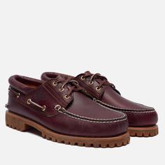 Мужские ботинки Timberland Authentics 3-Eye, цвет бордовый, размер 42 EU