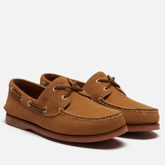 Мужские ботинки Timberland 2-Eye Classic Leather, цвет бежевый, размер 44.5 EU