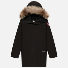 Мужская куртка парка Canada Goose Langford, цвет чёрный, размер M