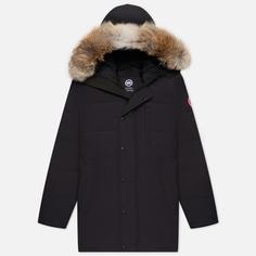 Мужская куртка парка Canada Goose Carson, цвет синий, размер S