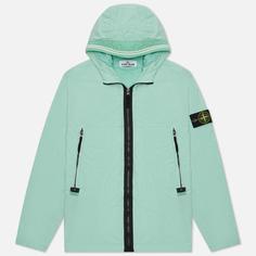 Мужская куртка Stone Island Skin Touch Nylon-TC, цвет голубой, размер L