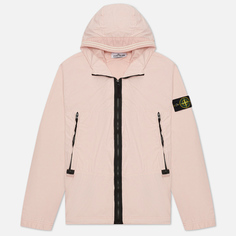 Мужская куртка Stone Island Skin Touch Nylon-TC, цвет розовый, размер XL