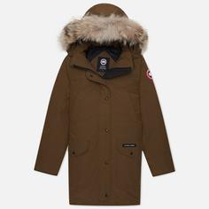 Женская куртка парка Canada Goose Trillium HD, цвет оливковый, размер S