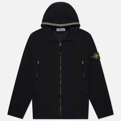 Мужская куртка Stone Island Skin Touch Nylon-TC, цвет чёрный, размер L