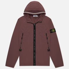 Мужская куртка Stone Island Skin Touch Nylon-TC, цвет бордовый, размер XL