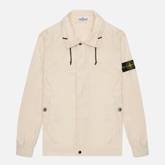 Мужская куртка Stone Island Micro Reps, цвет бежевый, размер XXL