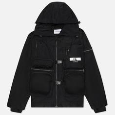 Мужская куртка Calvin Klein Jeans Technical 2 In 1 Utility, цвет чёрный, размер M