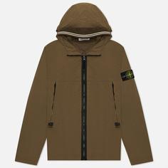 Мужская куртка Stone Island Skin Touch Nylon-TC, цвет оливковый, размер M