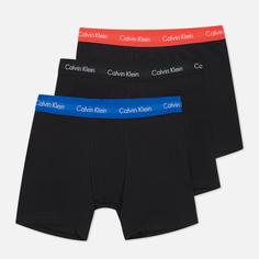 Комплект мужских трусов Calvin Klein Underwear 3-Pack Boxer Brief, цвет чёрный, размер M