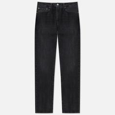 Мужские джинсы Levis 511 Slim Fit, цвет чёрный, размер 32/34