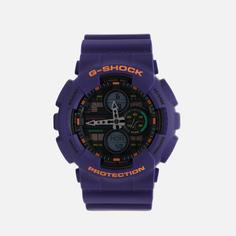 Наручные часы CASIO G-SHOCK GA-140-6AER, цвет фиолетовый