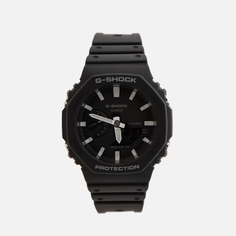 Наручные часы CASIO G-SHOCK GA-2100-1AER Octagon Series, цвет чёрный
