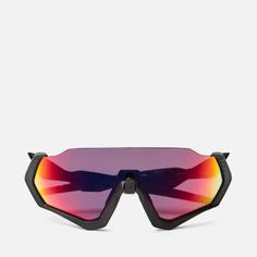 Солнцезащитные очки Oakley Flight Jacket, цвет чёрный, размер 37mm