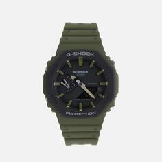 Наручные часы CASIO G-SHOCK GA-2110SU-3AER, цвет оливковый