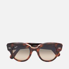 Солнцезащитные очки Ray-Ban Roundabout, цвет коричневый, размер 47mm