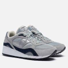 Мужские кроссовки Saucony Shadow 6000, цвет серый, размер 44.5 EU