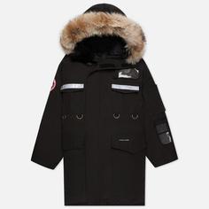 Мужская куртка парка Canada Goose Resolute, цвет чёрный, размер L