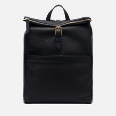 Рюкзак Mismo Express Leather, цвет чёрный