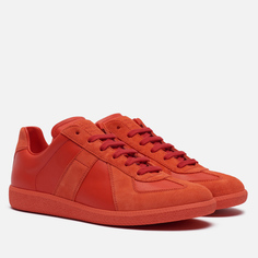 Мужские кроссовки Maison Margiela Replica Low Top, цвет красный, размер 40 EU