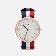 Наручные часы Daniel Wellington Classic Cambridge, цвет синий