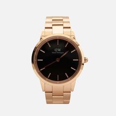 Наручные часы Daniel Wellington Iconic Link, цвет золотой