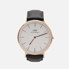 Наручные часы Daniel Wellington Classic Sheffield, цвет чёрный