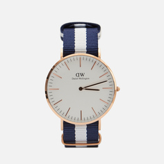 Наручные часы Daniel Wellington Classic Glasgow, цвет синий
