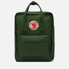 Рюкзак Fjallraven Kanken, цвет зелёный