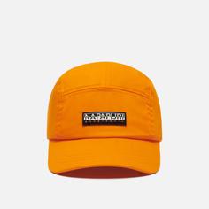 Кепка Napapijri Kualoa, цвет оранжевый
