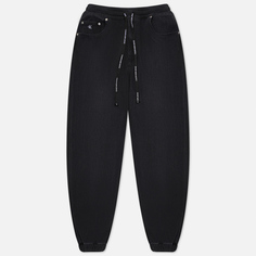 Мужские джинсы Calvin Klein Jeans Jogger, цвет чёрный, размер M