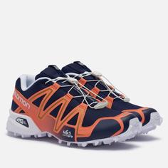 Мужские кроссовки Salomon Sneakers Speedcross 3, цвет оранжевый, размер 45.5 EU