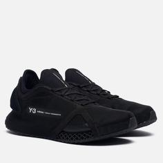 Мужские кроссовки Y-3 Runner 4D IO, цвет чёрный, размер 40.5 EU