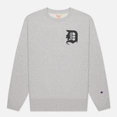 Мужская толстовка Champion Reverse Weave Detroit Tigers Crew Neck, цвет серый, размер XL