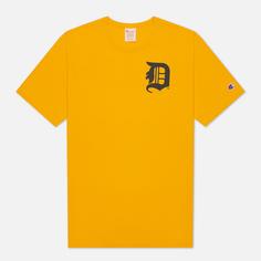 Мужская футболка Champion Reverse Weave Detroit Tigers Crew Neck, цвет оранжевый, размер L
