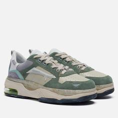 Женские кроссовки Premiata Drake-d 087, цвет зелёный, размер 40 EU