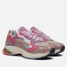 Женские кроссовки Premiata Sharky-d 081, цвет розовый, размер 36 EU