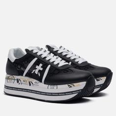 Женские кроссовки Premiata Beth 5215, цвет чёрный, размер 37 EU