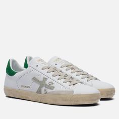 Мужские кроссовки Premiata Steven 5247, цвет белый, размер 46 EU