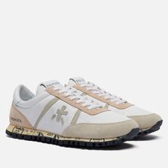 Мужские кроссовки Premiata Sean 5110, цвет белый, размер 40 EU