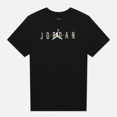 Мужская футболка Jordan Sport DNA HBR Crew, цвет чёрный, размер XXL