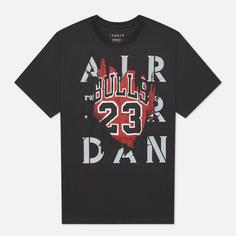 Мужская футболка Jordan Air Jordan 5 85 GFX, цвет серый, размер L