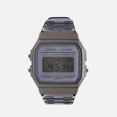Наручные часы CASIO Collection F-91WS-8EF, цвет серый