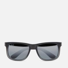 Солнцезащитные очки Ray-Ban Justin Classic, цвет серый, размер 55mm