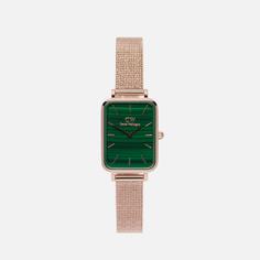 Наручные часы Daniel Wellington Quadro Pressed Melrose, цвет золотой