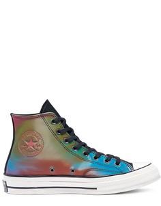 Многоцветные высокие кроссовки Converse Chuck 70-Многоцветный