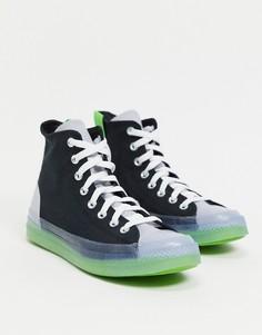 Черные высокие кроссовки Converse Chuck Taylor All Star CX-Черный цвет