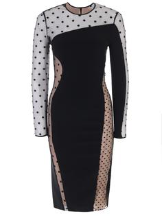 Платье с сеткой Stella Mc Cartney